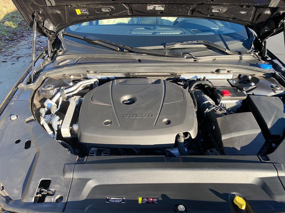 2021 Volvo V90 T6 AWD R-Design engine