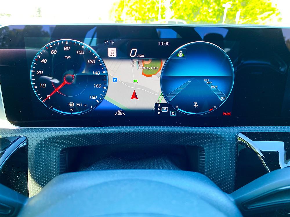 2020 Mercedes-Benz CLA35 4MATIC gauge cluster