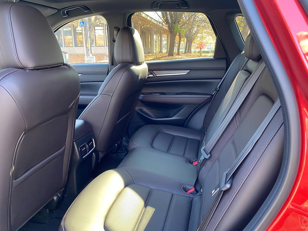 2021 Mazda CX-5 Signature AWD rear seat