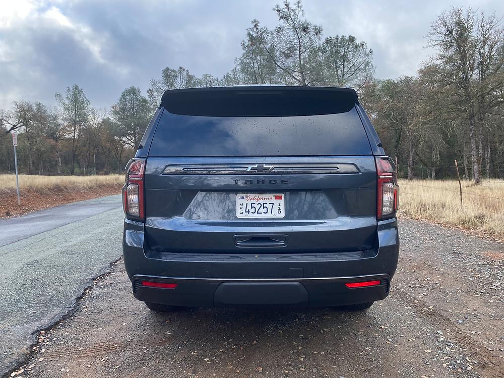 2021 Chevrolet Tahoe 4WD Z71 rear view