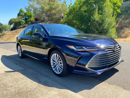 More Grip, Less Grunt: The 2021 Toyota Avalon Limited AWD