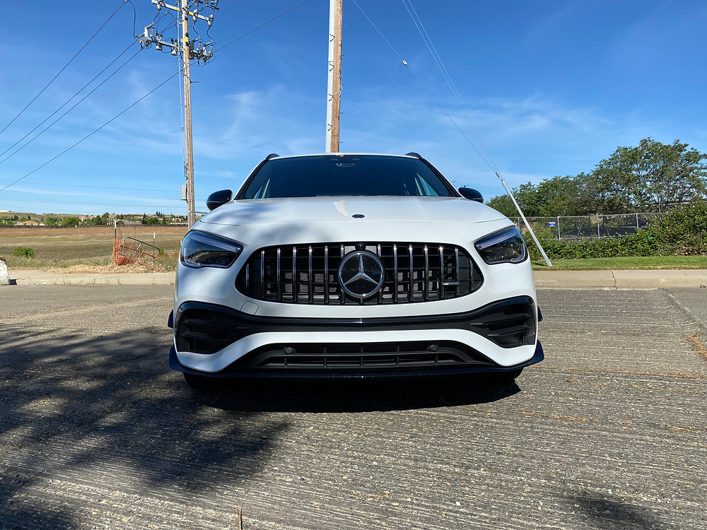 2021 Mercedes-AMG GLA45 4MATIC+ front view