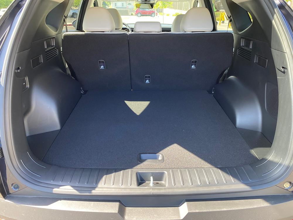 2021 Hyundai Tucson Limited Hybrid AWD cargo area