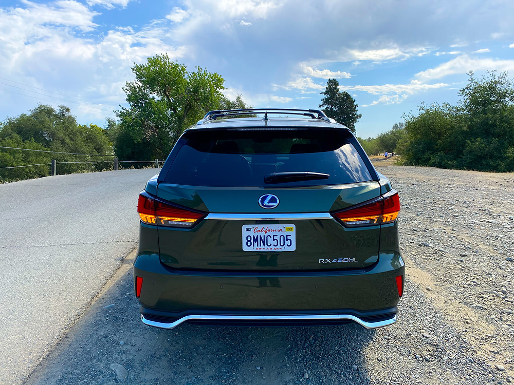 2020 Lexus RX 450hL rear view