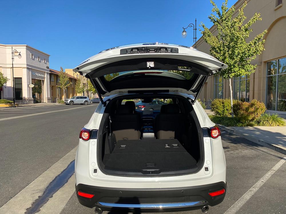 2021 Mazda CX-9 Signature AWD rear liftgate open