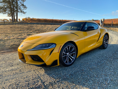 Less Can Be More: The 2021 Toyota GR Supra 2.0