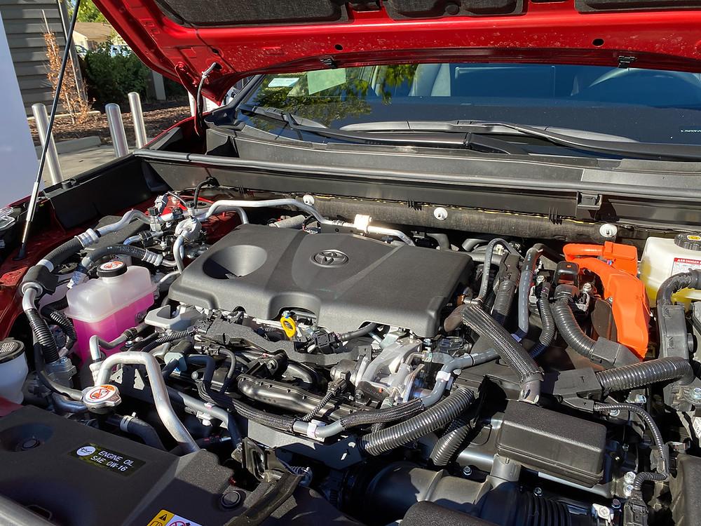 2021 Toyota RAV4 PRIME XSE AWD hybrid powerplant