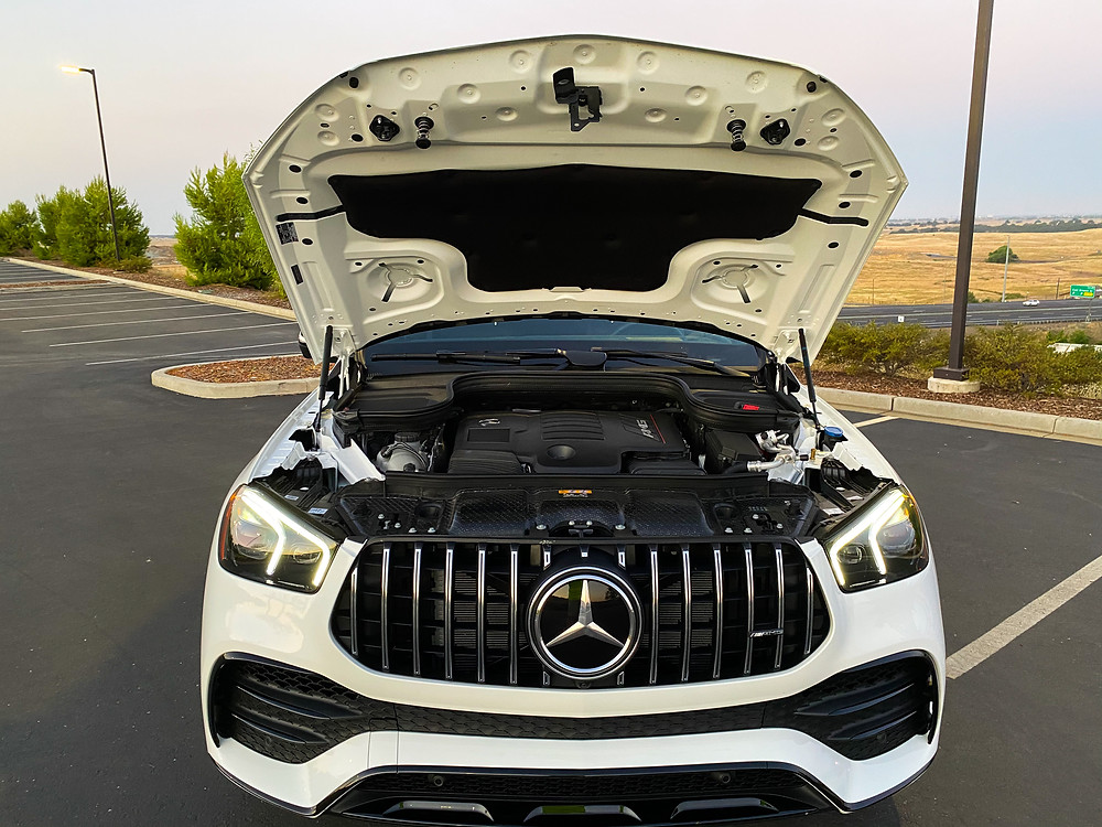 2021 Mercedes-Benz AMG GLE 53 Coupe hood up