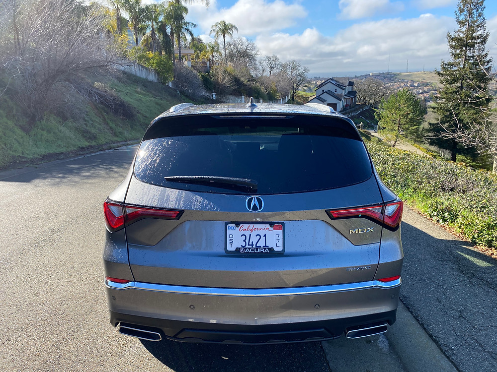 2022 Acura MDX SH-AWD Advance rear view
