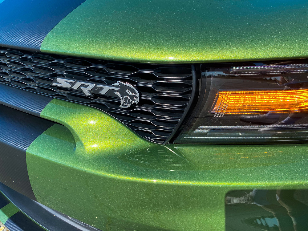 2020 Dodge Charger SRT Hellcat Widebody grille badge