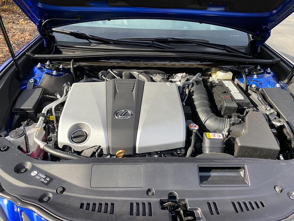 2021 Lexus ES350 F SPORT engine