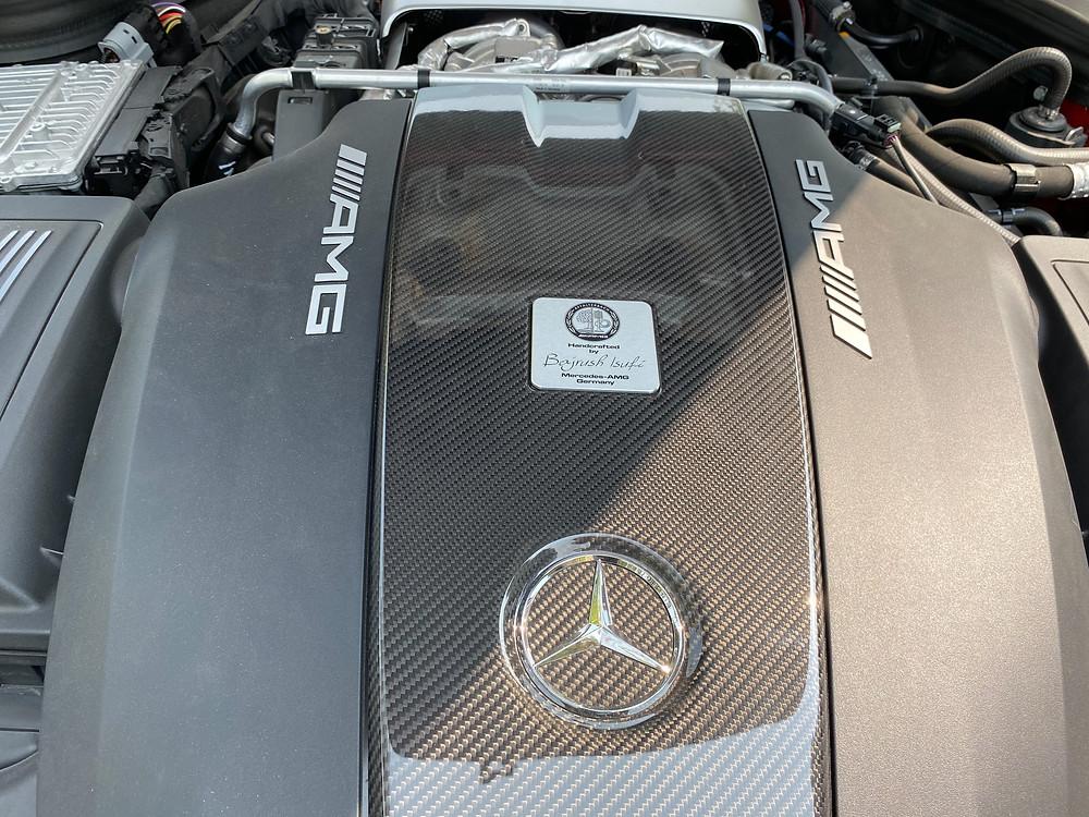 2020 Mercedes-AMG GT C engine detail