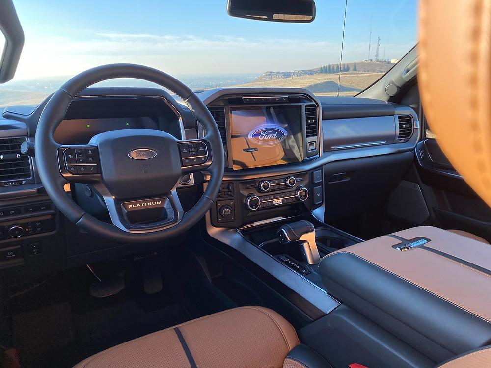 2021 Ford F-150 4X4 Supercrew instrument panel