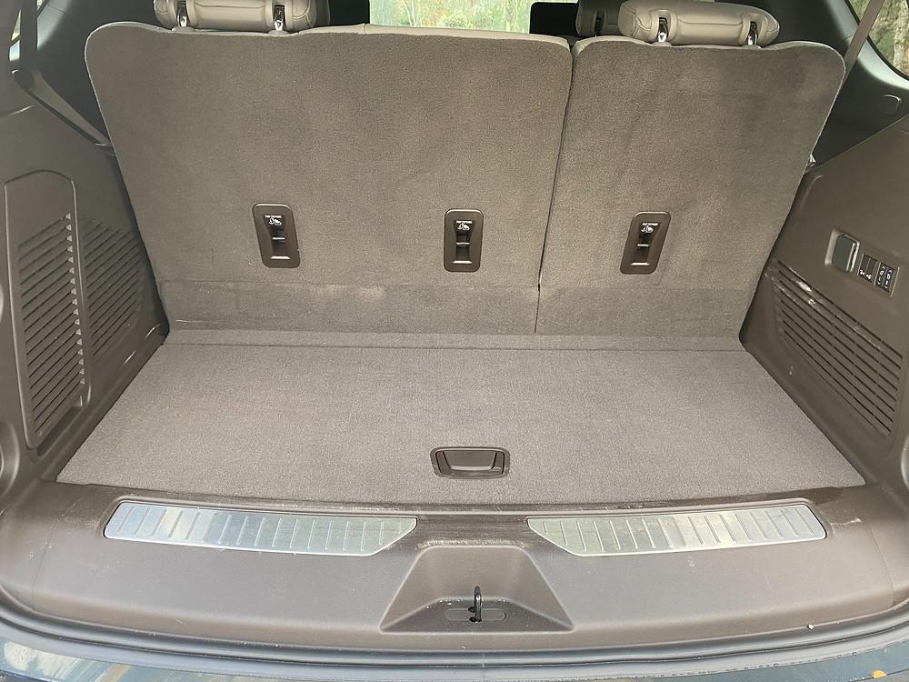 2021 Chevrolet Tahoe 4WD Z71 cargo area