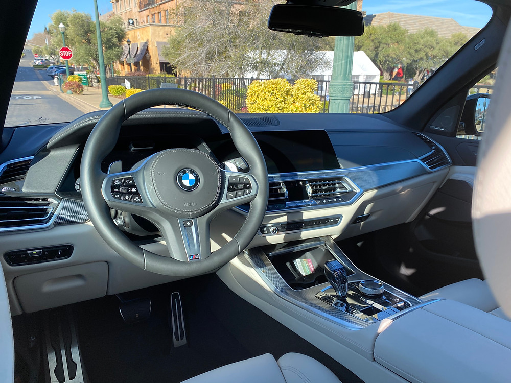 2021 BMW X5 xDrive45e instrument panel