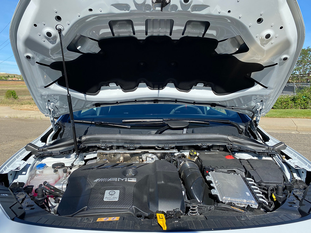 2021 Mercedes-AMG GLA45 4MATIC+ engine