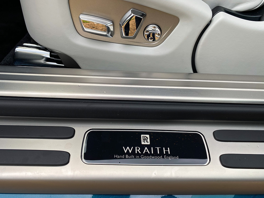 2020 Rolls-Royce Wraith Black Badge sill plate