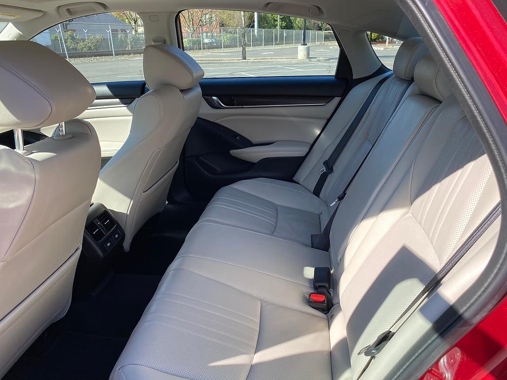 2021 Honda Accord Hybrid rear seat