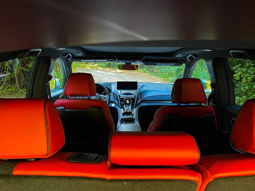 2020 Acura RDX SH-AWD interior