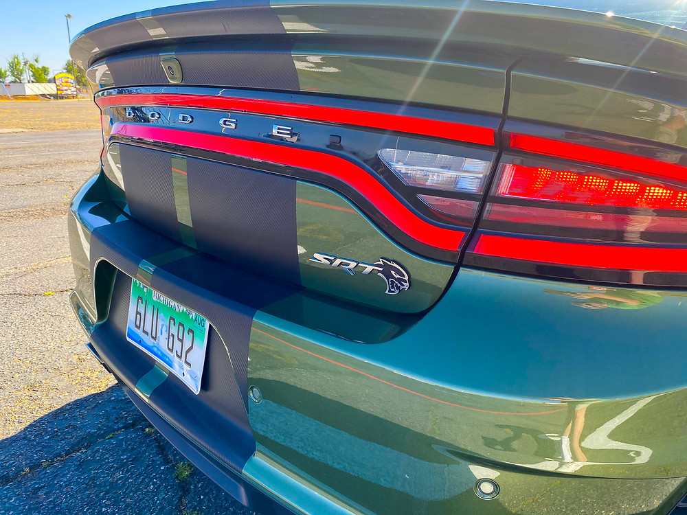 2020 Dodge Charger SRT Hellcat Widebody rear badge