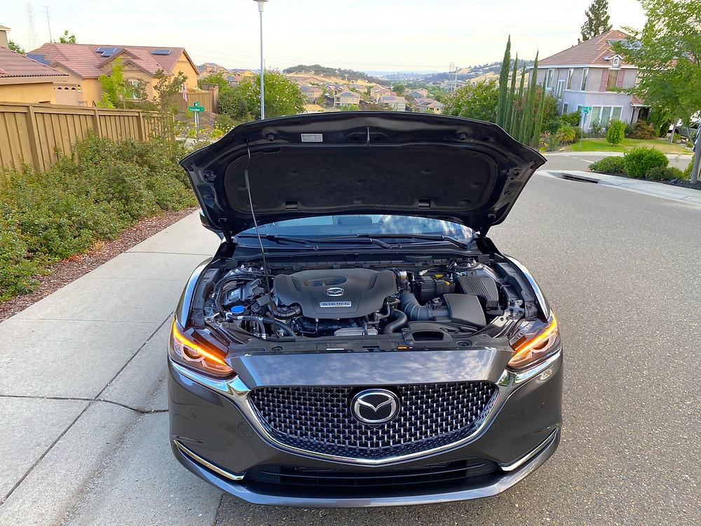 2020 Mazda 6 Signature hood up
