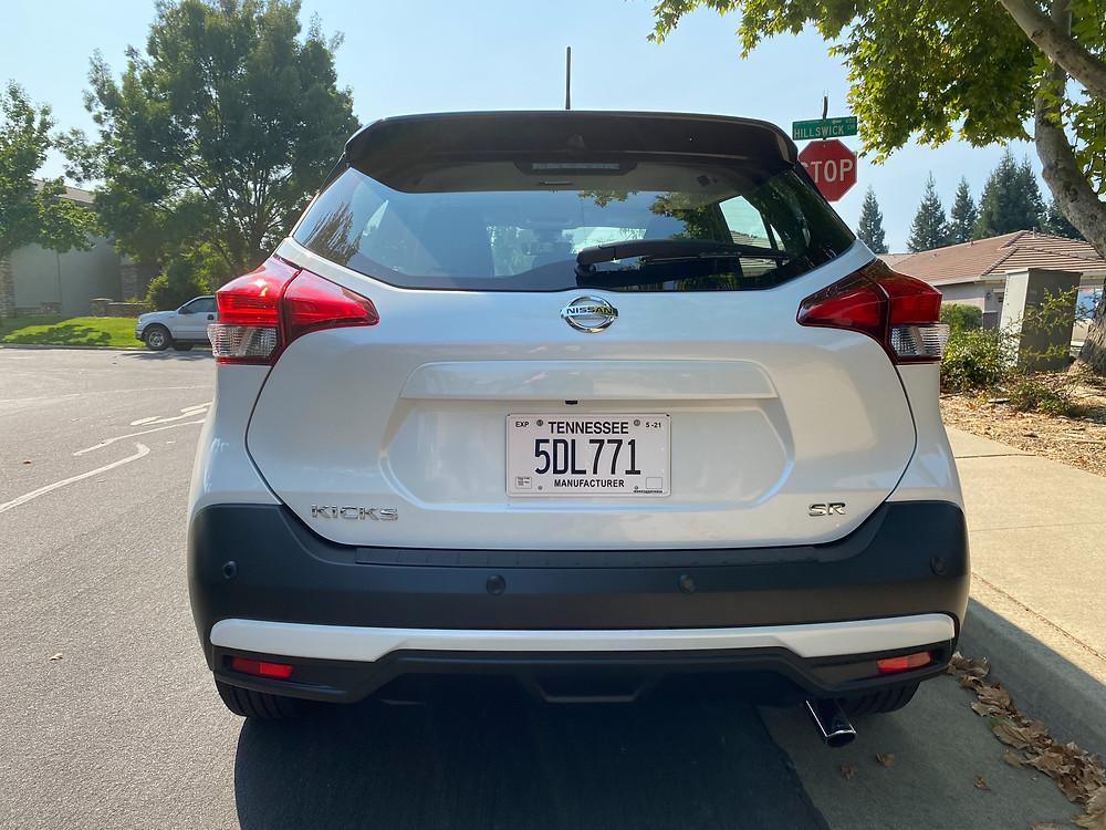 2020 Nissan Kicks SR rear view