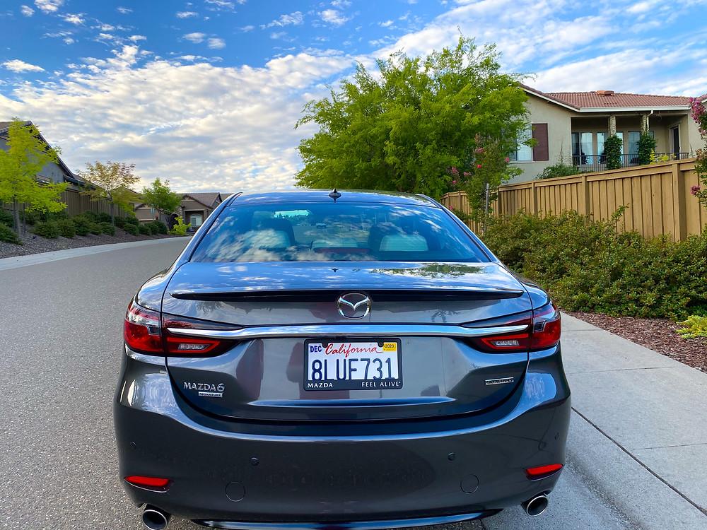 2020 Mazda 6 Signature rear view