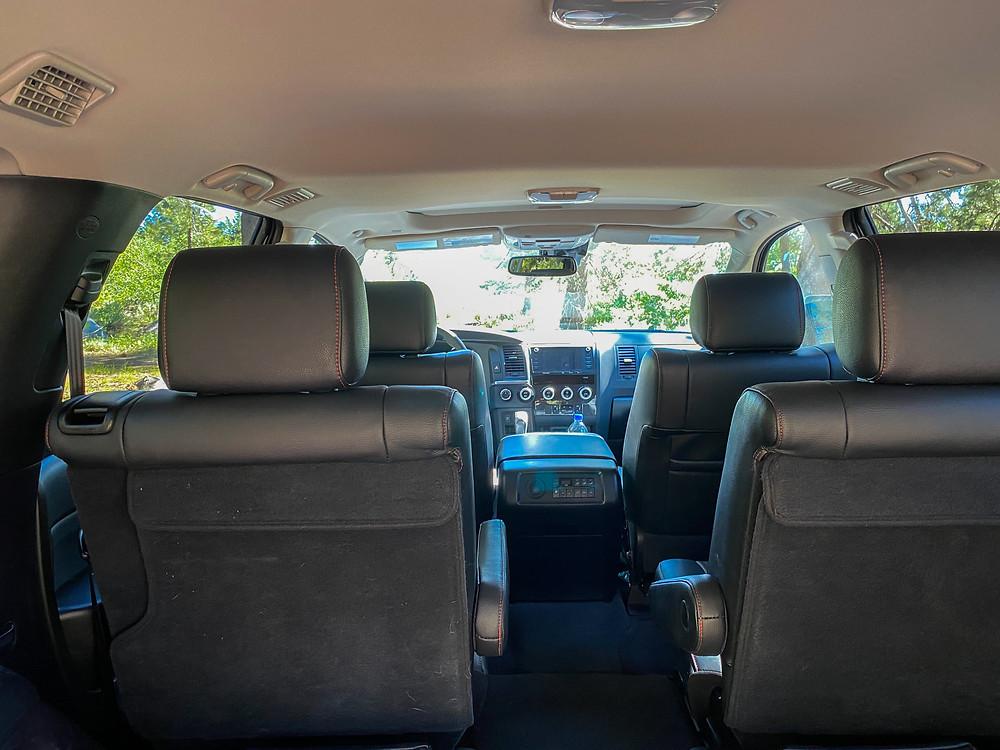 2020 Toyota Sequoia TRD PRO interior