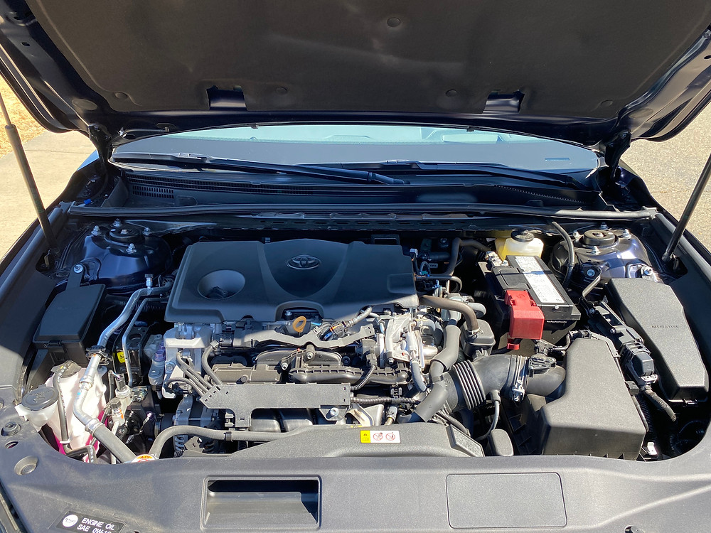 2021 Toyota Avalon Limited AWD engine