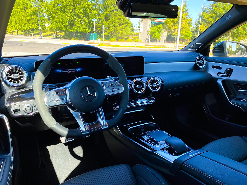 2020 Mercedes-Benz AMG CLA35 4MATIC instrument panel
