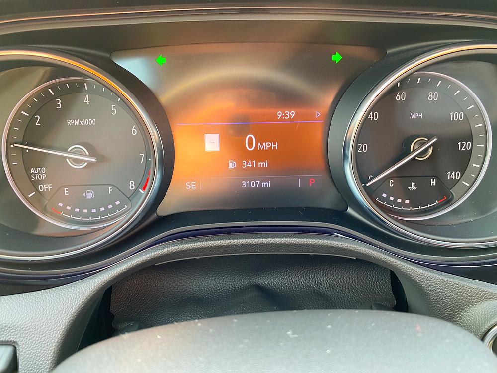 2020 Buick Encore GX Essence gauge cluster