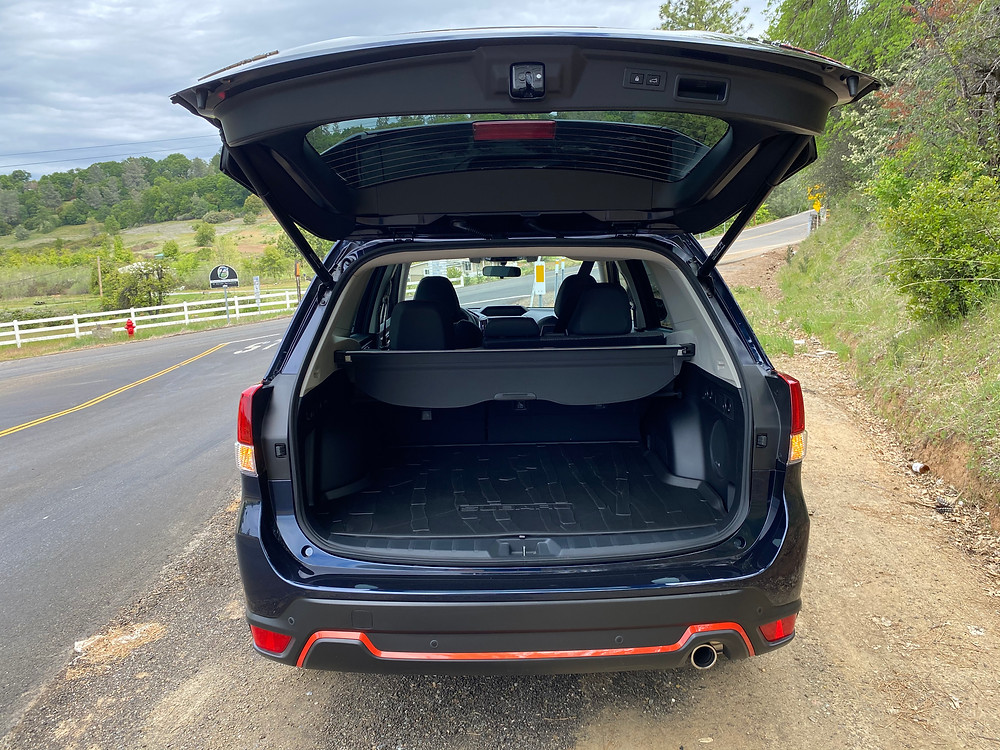 2021 Subaru Forester Sport rear liftgate open