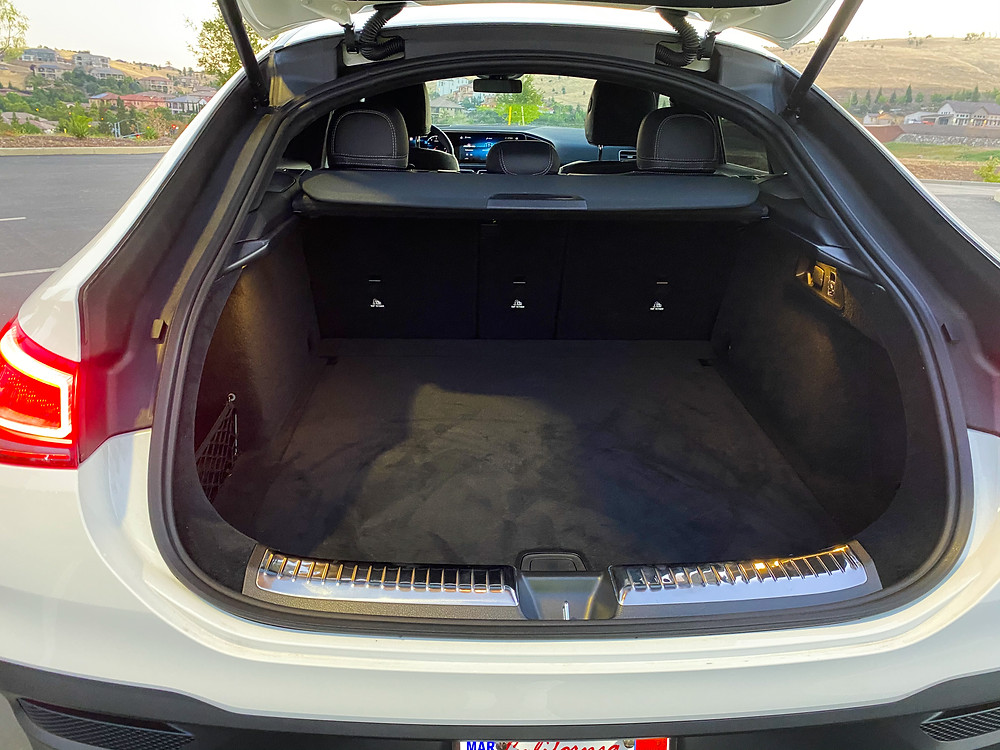 2021 Mercedes-Benz AMG GLE 53 Coupe cargo area