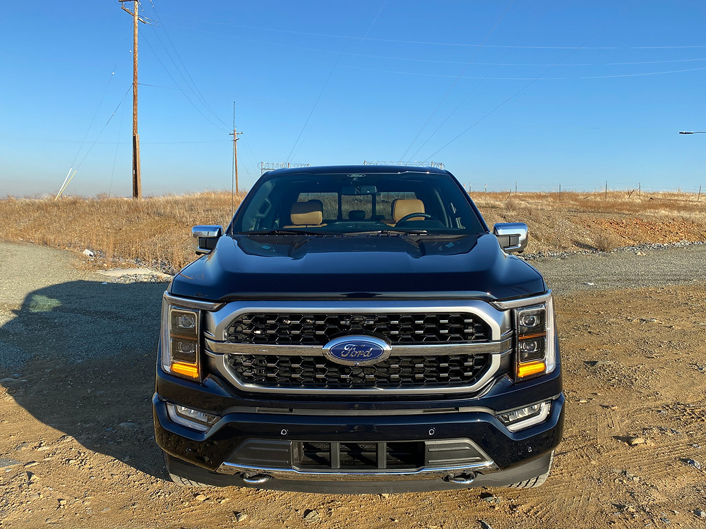 2021 Ford F-150 4X4 Supercrew front view