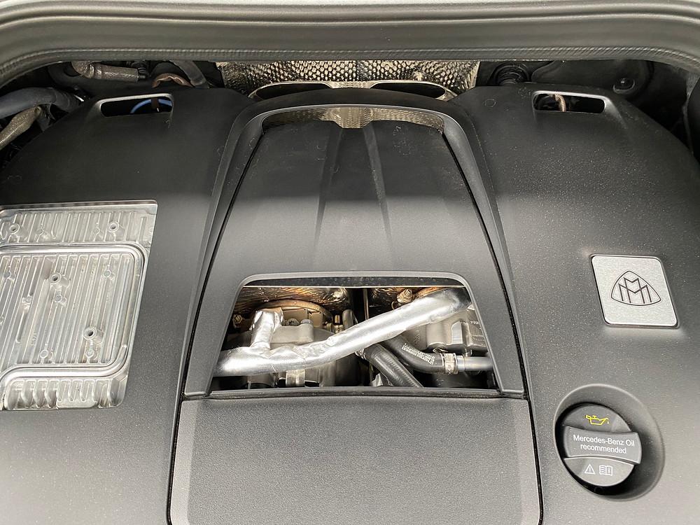 2021 Mercedes-Maybach GLS 600 engine detail