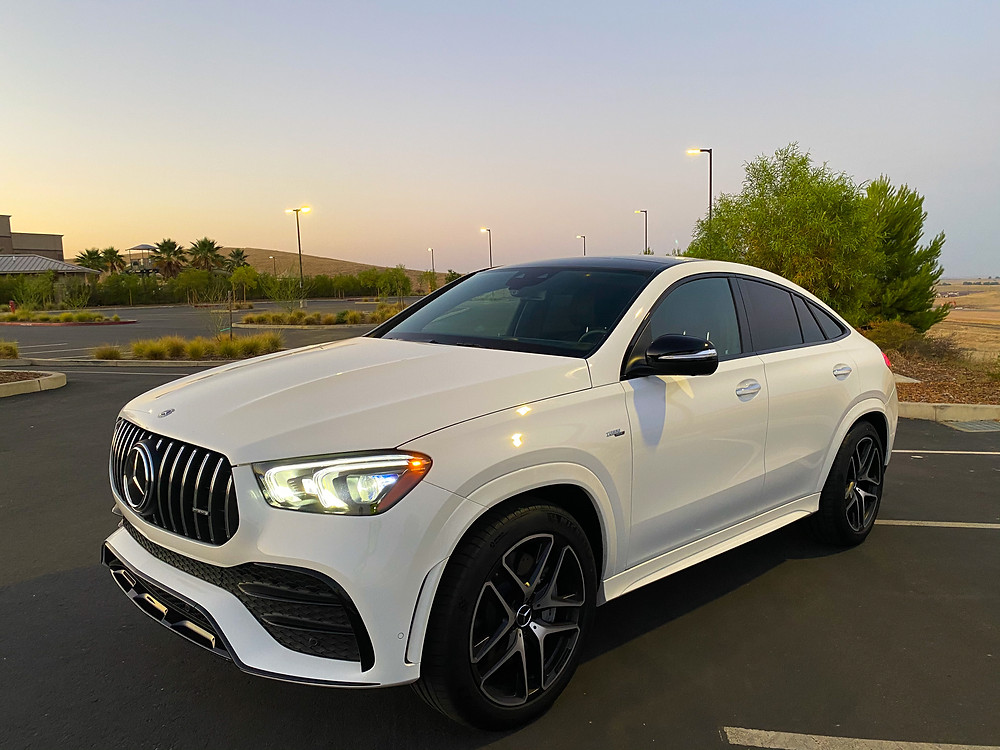 2021 Mercedes-Benz AMG GLE 53 Coupe front 3/4 view