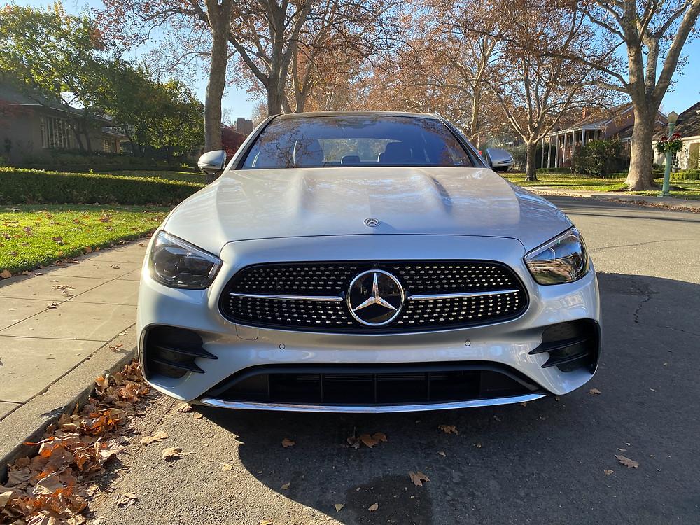 2021 Mercedes-Benz E450 4MATIC Sedan front view