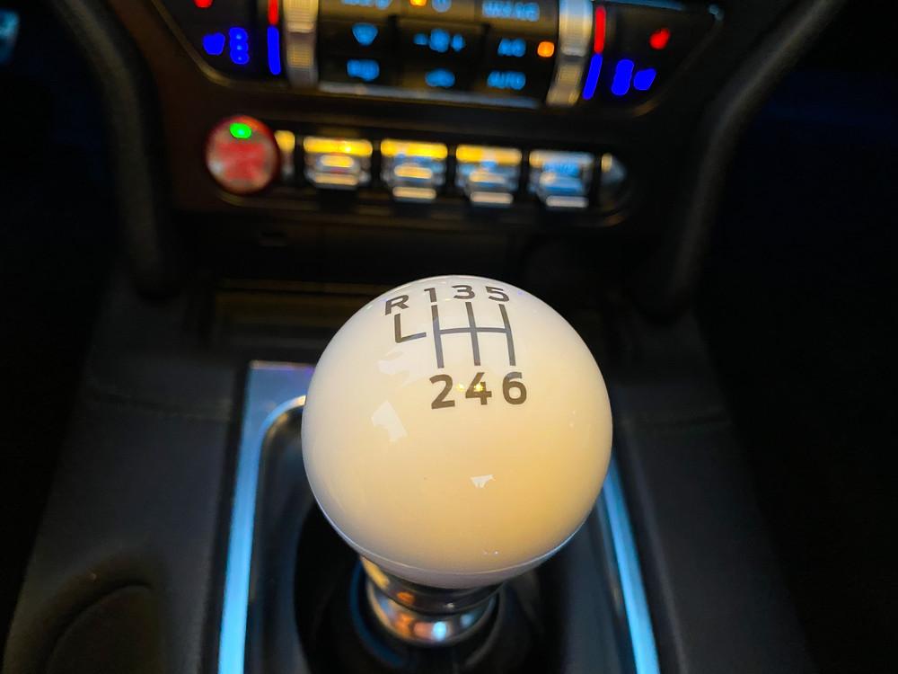 2020 Ford Mustang BULLITT shifter