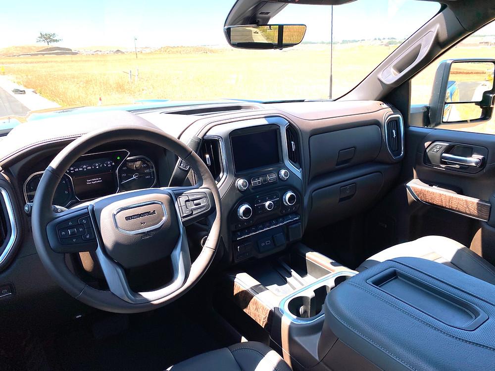 2021 GMC Sierra 2500 Denali Crew Cab 4WD instrument panel