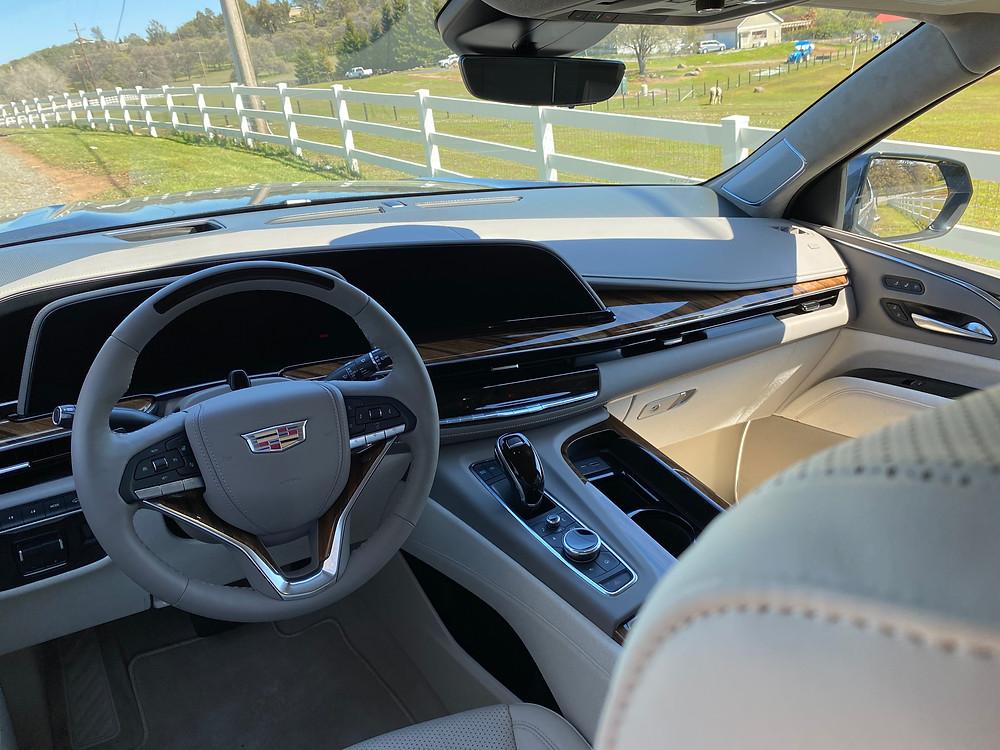 2021 Cadillac Escalade 4WD Platinum instrument panel