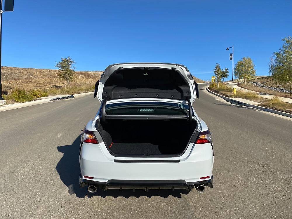2021 Toyota Camry V6 TRD trunk open