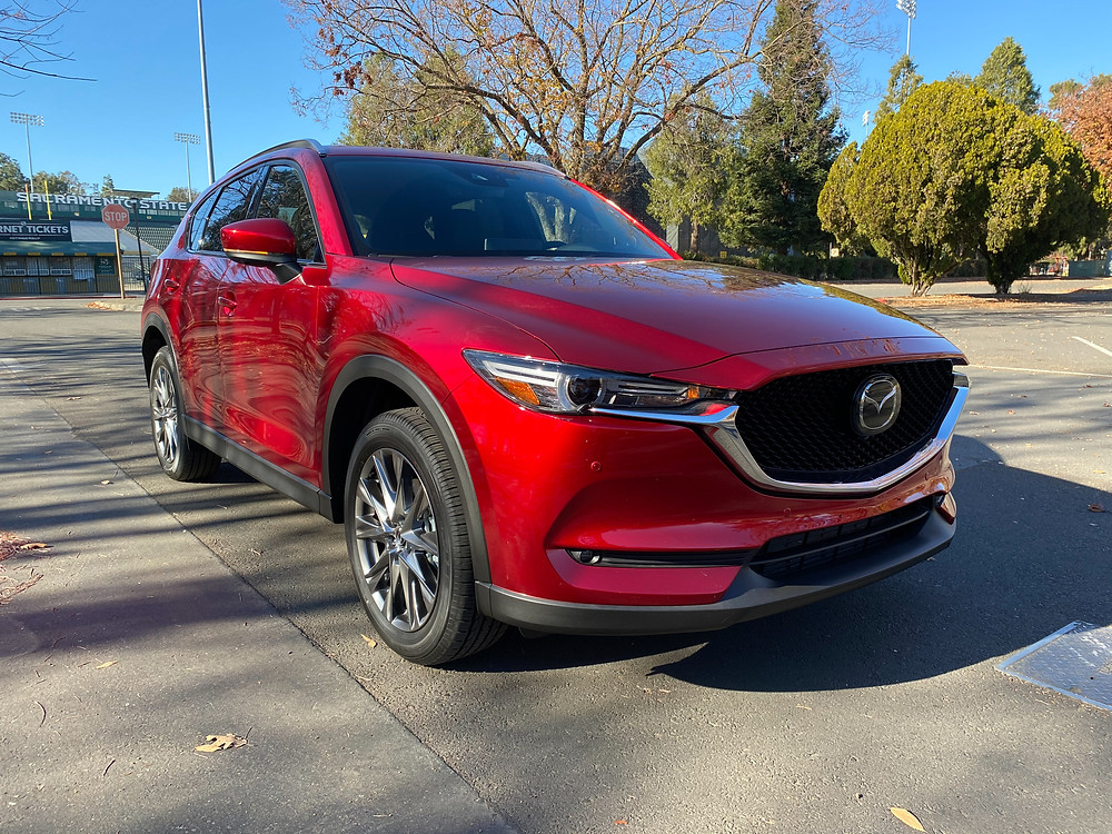 2021 Mazda CX-5 Signature AWD front 3/4 view