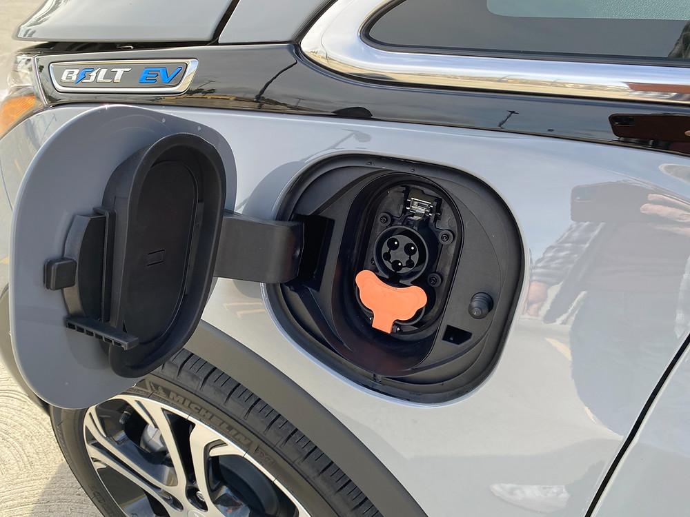 2020 Chevrolet Bolt EV Premier charging port