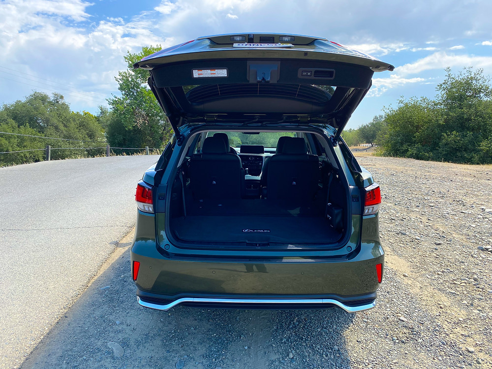 2020 Lexus RX 450hL liftgate open