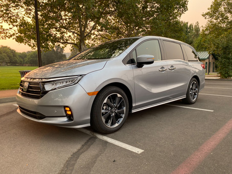 Family (Hauler) Feud: The 2021 Honda Odyssey Elite