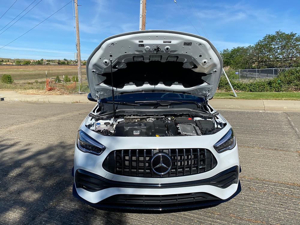 2021 Mercedes-AMG GLA45 4MATIC+ hood up