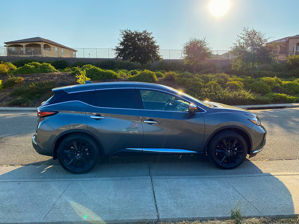 2020 Nissan Murano Platinum FWD side view