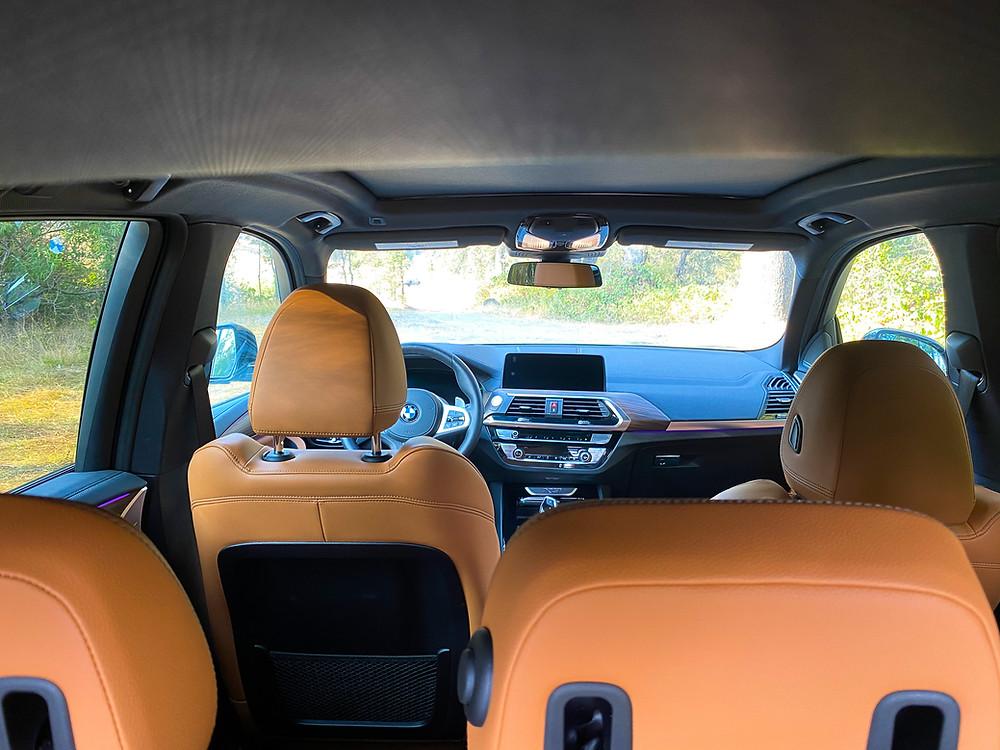 2020 BMW X3 xDrive30e interior