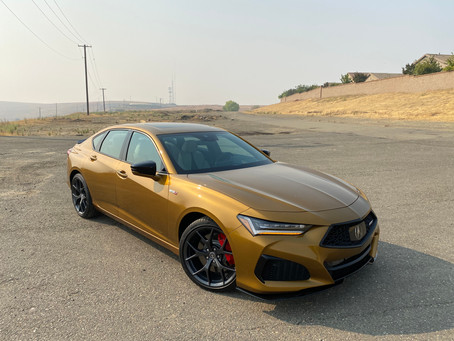 S Marks The Sport: The 2021 Acura TLX Type S