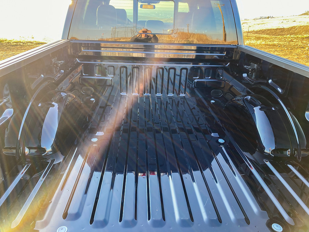 2021 Ford F-150 4X4 Supercrew bed
